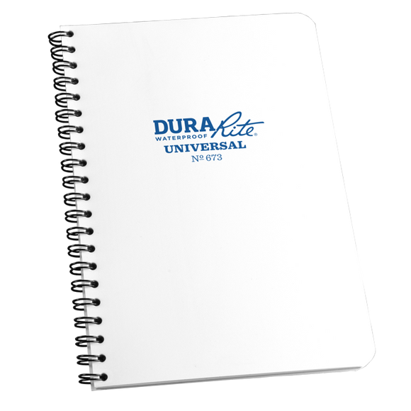 DuraRite - #673 Side Spiral, Waterproof Notebook