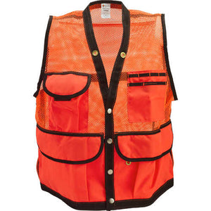 8-Pocket Nylon Mesh Cruiser Vest