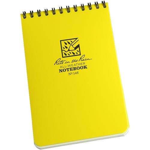Rite in the Rain Hip Pocket Notebook, Yellow