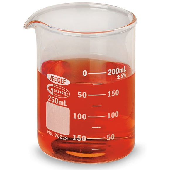 Beaker, Glass, 250 ml