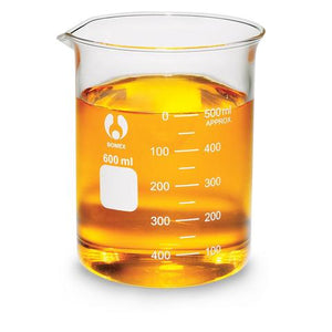 Beaker, Glass, 600 ml