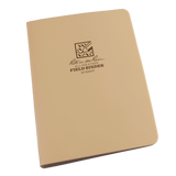 "Rite-in-the-Rain - #9200T 6-Ring Binder, 1/2"" Capacity, Tan"