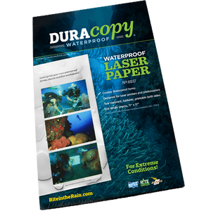 DuraCopy Waterproof Paper, White, #6517