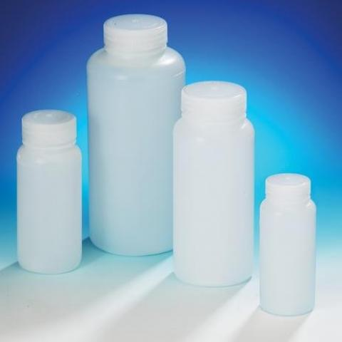 Bottles, Wide Mouth, HDPE, Natural