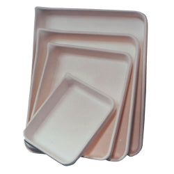 Dissecting Trays, White Plastic