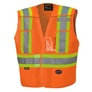 Hi-Viz Tear Away Safety Vest
