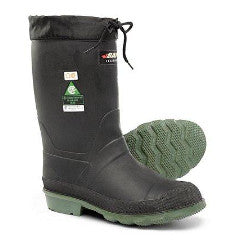 "Boots, 13"" Rubber, Felt-Lined, Steel Toe, Baffin ""Hunter"""