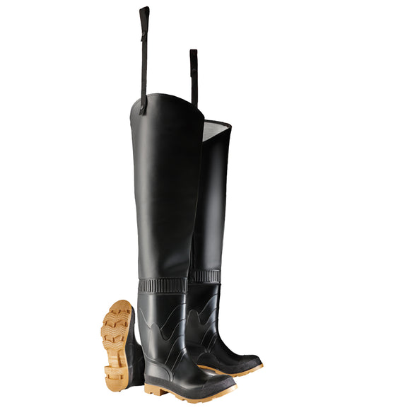Hip Waders, Heavy-Duty PVC
