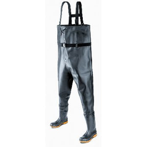 Heavy Duty PVC Waders, Plain Toe