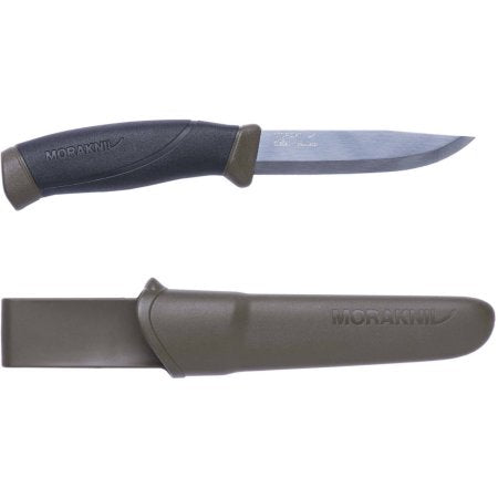 Mora Companion Knife, Military Green