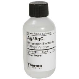 Thermo Scientific Orion Electrode Fill solution, 4 M KCl with Ag+, 5 x 60 ml Bottles