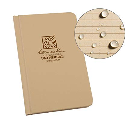 Rite-in-the-Rain - #970TF-M Pocket Sized Bound Book, Universal Pattern