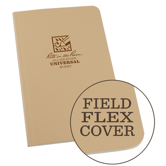 Rite-in-the-Rain - #974T Field-Flex Standard Notebook, Tan