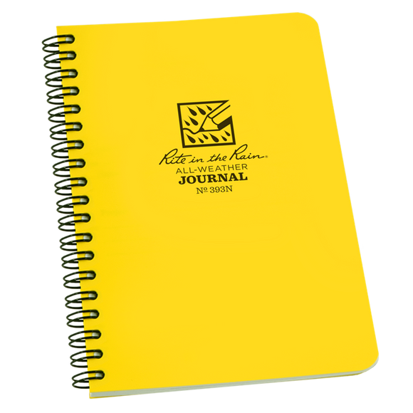 Rite in the Rain Spiral Bound Notebook with Numbered Pages, #393N