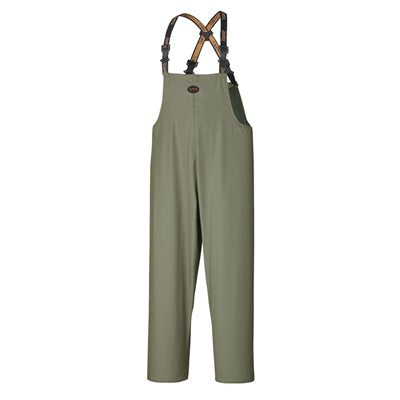 Pioneer Outdoorsman Bib Rain Pants, Green