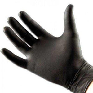 Disposable Nitrile Gloves, Black