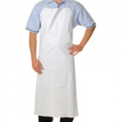 Apron, Heavy-Duty, White PVC