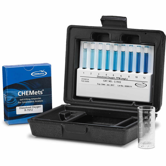 Chemets Dissolved Oxygen Test Kit