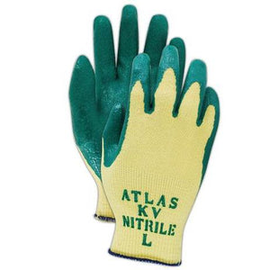 Atlas KV350 Kevlar Glove with Nitrile Palm Coating