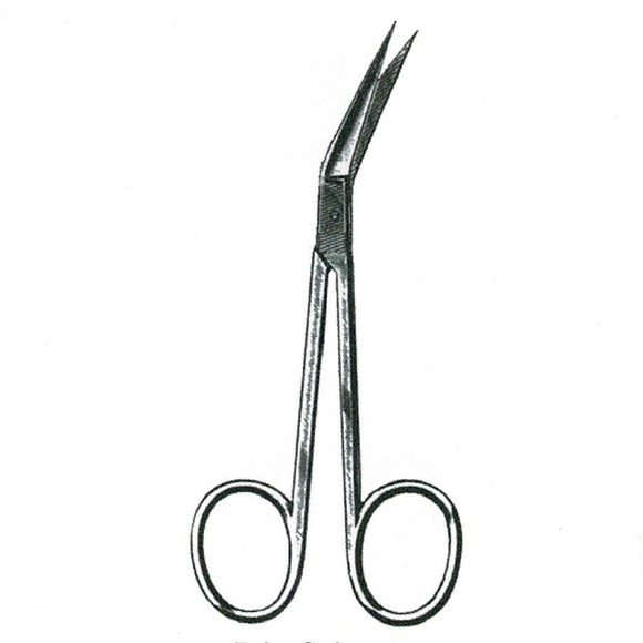 Dissecting Scissors - Fine, Angled