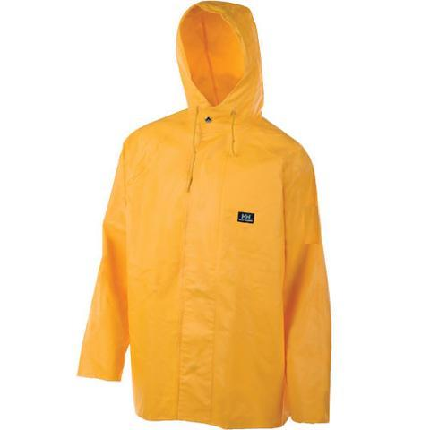 Helly Hansen Heavy-Weight PVC - Hooded Jacket, Yellow