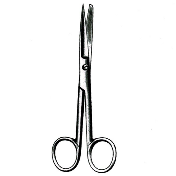 Dissecting Scissors - Straight, Sharp/Blunt