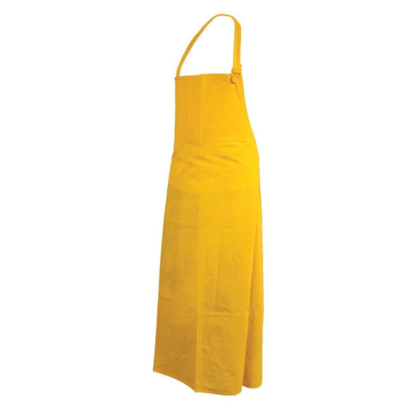 Apron, PVC, Yellow