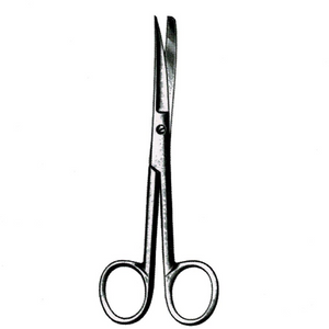 Dissecting Scissors -Curved, Sharp/Blunt