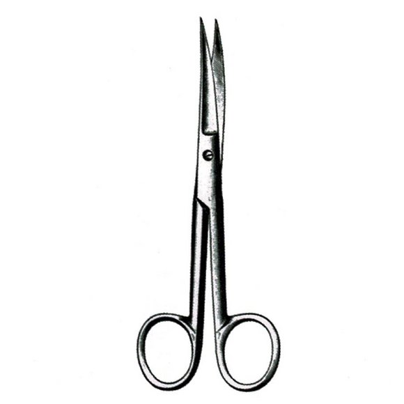 Dissecting Scissors - Curved, Sharp/Sharp