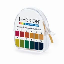 pH Test Paper, pH Range 1-12, 15' Roll