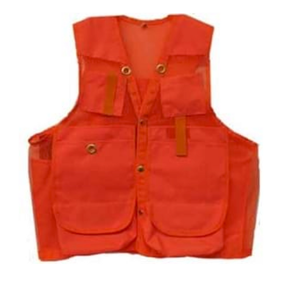 Cruiser Vest, Red, Cordura