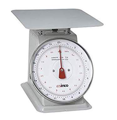 Table Top Dial Scale - 20 lb / 9 Kg Capacity