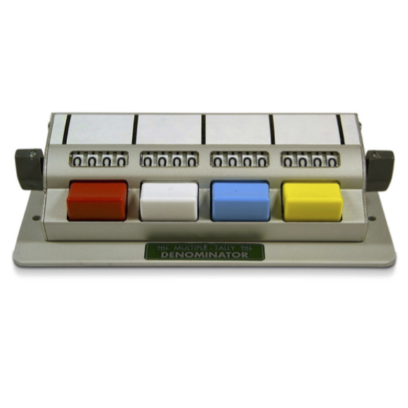 Tally Counter, 4 Unit