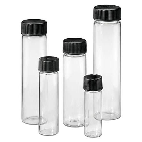 Screw Cap Vials, Glass (Various Sizes)