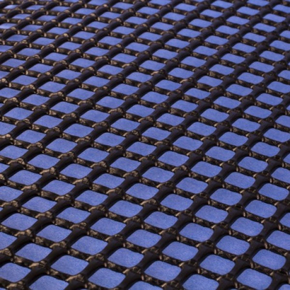 Plastic Netting, Square Mesh, Black, 1/4