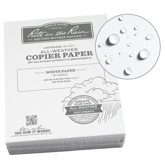 Rite-in-the-Rain - #208511 Copier Paper, 8.5