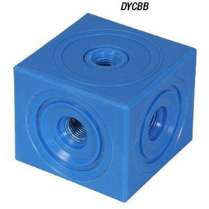 "Diffuser Connector Block, 1/4"" FNPT, HDPE"