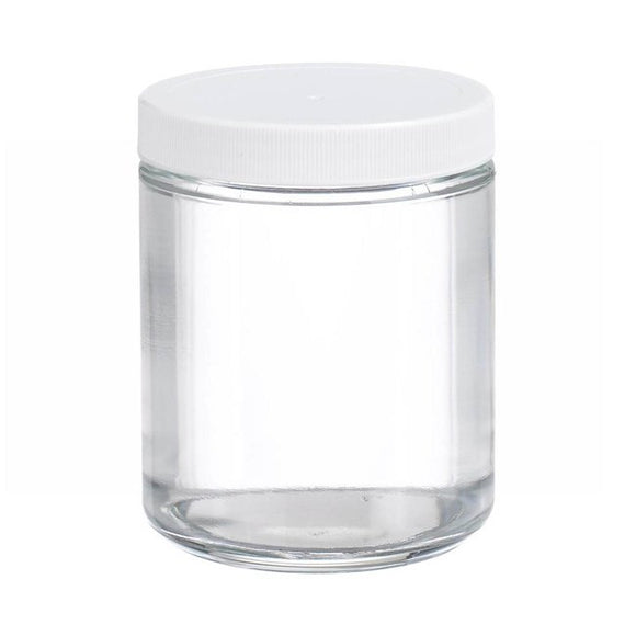 Straight Sided Glass Jar
