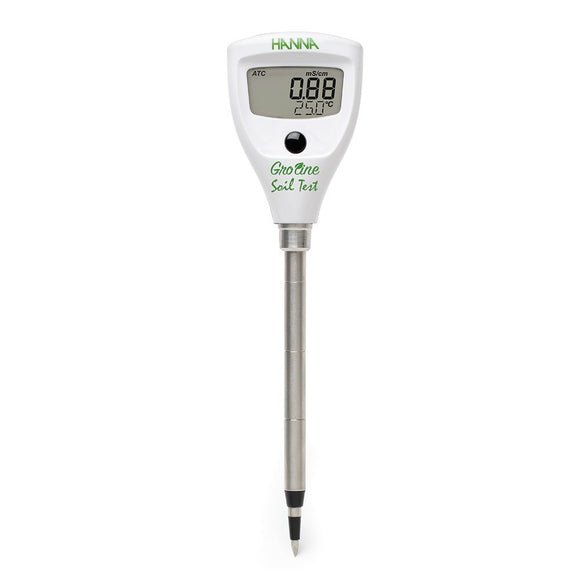 Hanna Instruments GroLine Soil Test Direct Soil EC Tester
