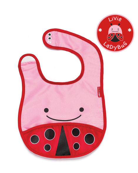 Zoo Tuck-Away Bib