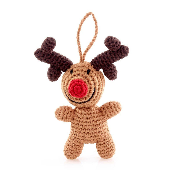 Pebble - Rudolph Ornament