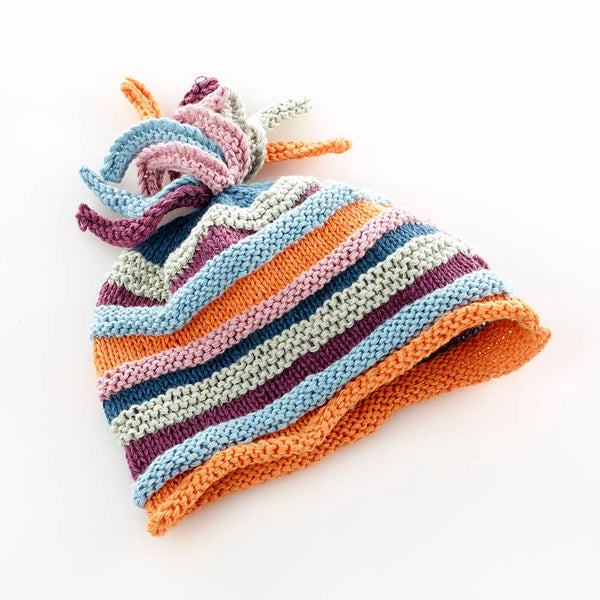 Pebble - Organic Rainbow Hat