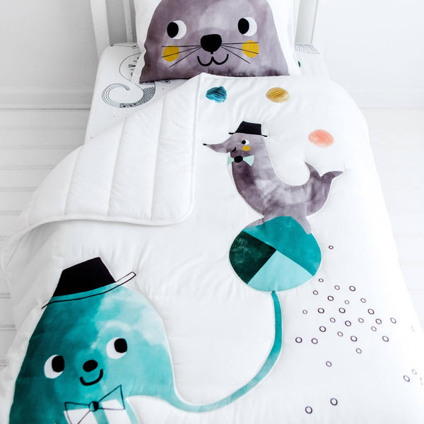 Rookie Humans - Jellyfish Toddler Comforter