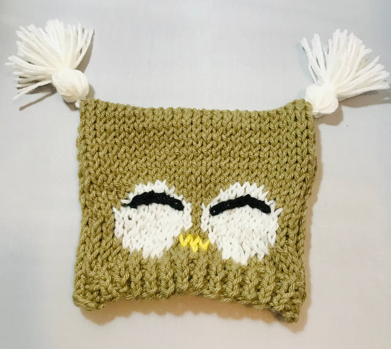 Just for Moppets - Baby Owl Beanie