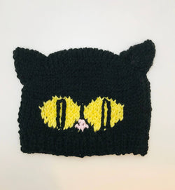 Just for Moppets - Black Cat Beanie