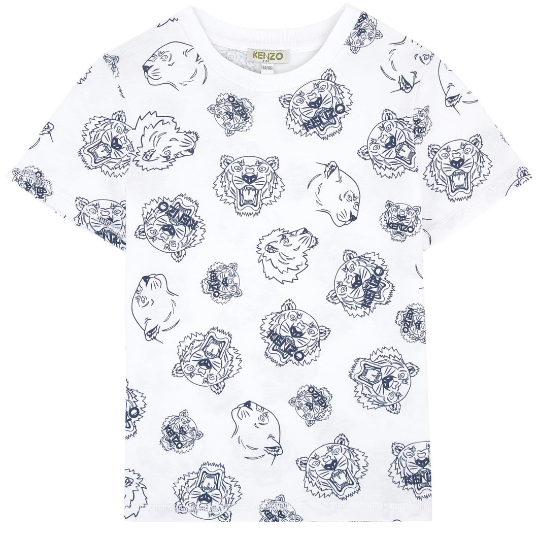 Kenzo Kids Printed T-shirt - Tiger Friends