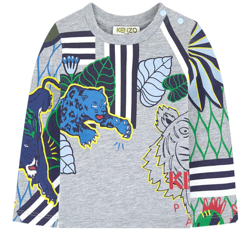 Kenzo Kids Printed T-shirt - Multi Icons
