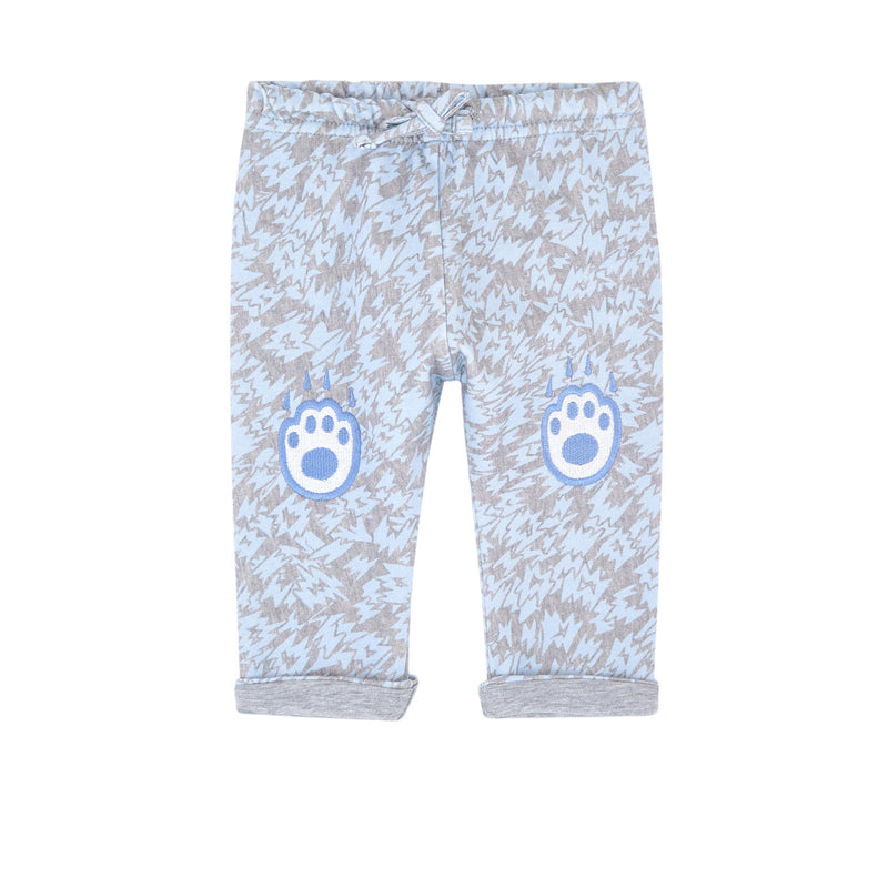 Kenzo Kids Graphic organic cotton pants