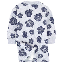 Kenzo Kids Sweatshirt dress with a print - Multi Icons