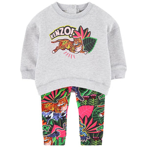 Kenzo Kids Graphic sweatshirt and leggings - Fantastic Kenzo